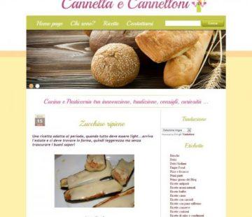Cannella e cannelloni blog