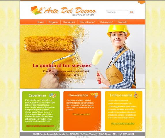 L 39 arte del decoro pitturazione e decorazione interni for Blog decorazione interni