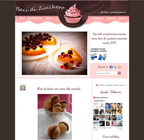 blog di dolci baci di zucchero