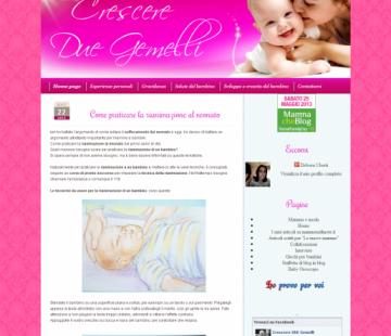 Crescere due gemelli blog