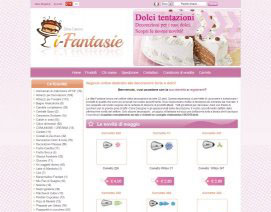Ecommerce Fantasie dolciarie