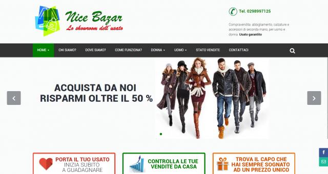 Sito internet per negozio di abbigliamento