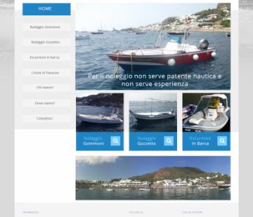 Grafica Noleggio barche
