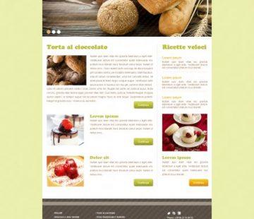 Blog di ricette esempio
