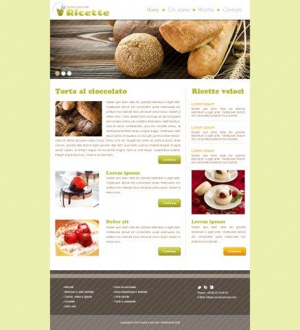Blog di ricette esempio 3